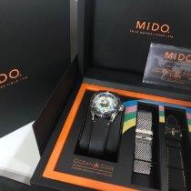 Mido Ocean Star Stal 40.5mm Czarny Arabskie