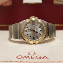 Omega Constellation Double Eagle Or/Acier Argent
