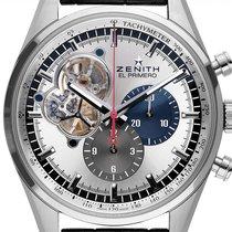 Zenith El Primero Chronomaster neu 2021 Automatik Chronograph Uhr mit Original-Box und Original-Papieren 03.2040.4061/69.C496