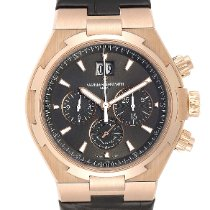 Vacheron Constantin Rose gold Automatic Brown 42.5mm pre-owned Overseas Chronograph
