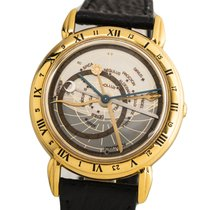 Ulysse Nardin Astrolabium Yellow gold 40mm Silver No numerals