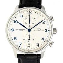IWC Portugieser Chronograph Stahl 41mm Silber Arabisch Schweiz, Lugano