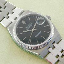 Rolex Datejust Oysterquartz Steel 36mm Black