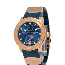 Ulysse Nardin Yellow gold Automatic Blue 40.5mm pre-owned