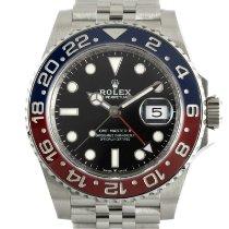 Rolex 126710BLRO Acier 2018 GMT-Master II 40mm occasion