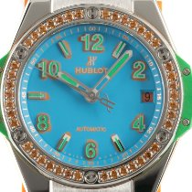 Hublot Big Bang Pop Art Zeljezo 39mm Plav-modar