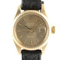 Rolex Lady-Datejust 6917 Sehr gut Gelbgold 26mm Automatik