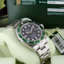 Rolex Submariner Date nuevo 2008 Automático Reloj con estuche y documentos originales 16610LV
