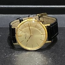 Patek Philippe Calatrava Yellow gold 33mm Silver No numerals Singapore