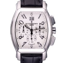 Vacheron Constantin Steel Automatic Silver Arabic numerals 37mm pre-owned Royal Eagle