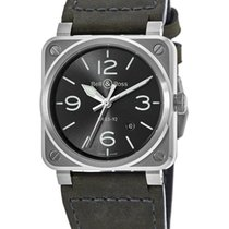 Bell & Ross BR 03-92 Steel BR0392-GC3-ST/SCA New Steel Automatic