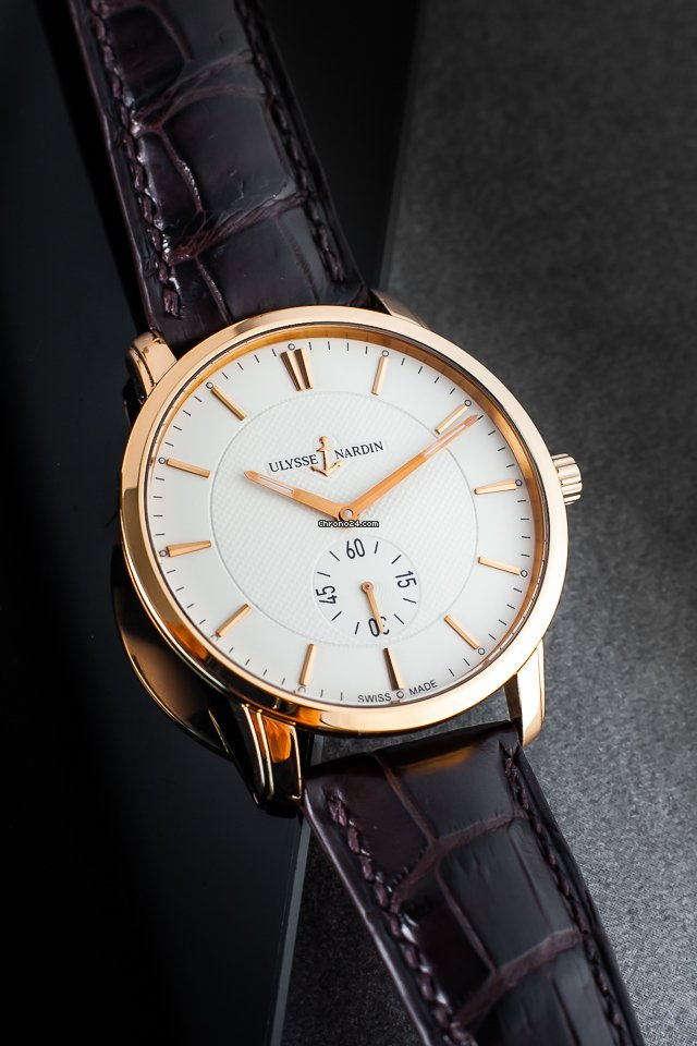 Ulysse Nardin Classico 8206-158 2013 pre-owned