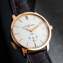 Ulysse Nardin Classico pre-owned 39mm White Leather