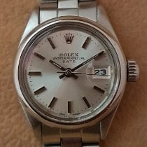 Rolex Oyster Perpetual Lady Date 6916 Meget god Stål 26mm Automatisk