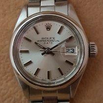 Rolex Oyster Perpetual Lady Date 6916 Très bon Acier 26mm Remontage automatique