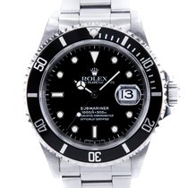 Rolex Submariner Date new 1996 Automatic Watch with original box and original papers 16610