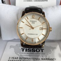 Tissot Titanium Automatic Titan 40mm Sølv Arabertal