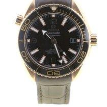 Omega Seamaster Planet Ocean Or rose 39.5mm Brun Arabes