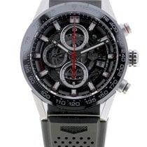 TAG Heuer Carrera Calibre HEUER 01 neu Automatik Uhr mit Original-Box und Original-Papieren CAR201V.FT6046