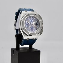 Audemars Piguet Royal Oak Offshore Chronograph Platina 44mm Azul