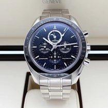 Omega Speedmaster Professional Moonwatch Moonphase 311.30.44.32.01.001 Bueno Acero 44mm Cuerda manual