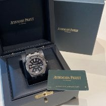 Audemars Piguet Royal Oak Offshore Diver Сталь 42mm Черный Без цифр