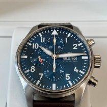 IWC Pilot Chronograph Acél 43mm Kék Arab Magyarország, Sopron