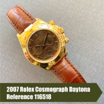 Rolex Daytona Yellow gold 40mm Mother of pearl Roman numerals United States of America, Florida, Coral Gables