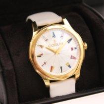 Corum Admiral's Cup Legend 38 nuevo Automático Reloj con estuche y documentos originales 110.200.56/0049 PN12