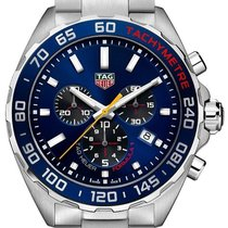 TAG Heuer Formula 1 Quartz Steel 43mm Blue No numerals United States of America, Florida, Hollywood