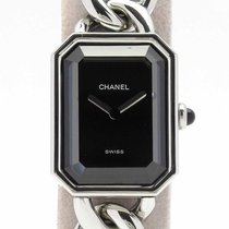 Chanel Première pre-owned 25mm Black Steel