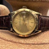 Rolex Datejust Turn-O-Graph Κίτρινο χρυσό 36mm Σαμπανιζέ χρώμα Xωρίς ψηφία Ελλάδα, Kerkyra