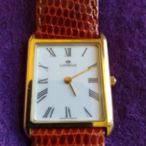 Lorenz pre-owned Quartz 28mm White Mineral Glass Not water resistant