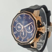 Corum Admiral's Cup Challenger Oro rosa 44mm Negro