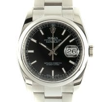 Rolex Datejust Stal 36mm Czarny