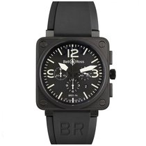 Bell & Ross BR 01-94 Chronographe BR01-94-S Very good Steel 46mm Automatic United States of America, California, Upland