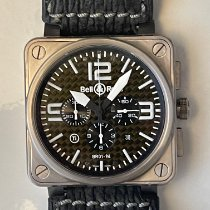 Bell & Ross BR 01-94 Chronographe pre-owned 46mm Black Chronograph Date Rubber