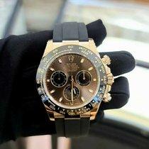 Rolex Daytona Pозовое золото 40mm Коричневый Без цифр