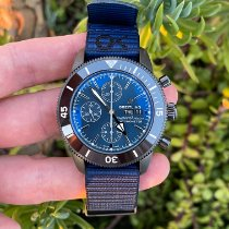 Breitling Superocean Heritage II Chronographe Steel 44mm Blue No numerals United States of America, California, Los Angeles