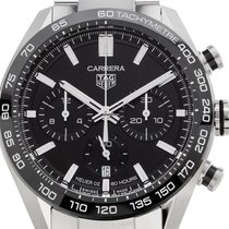 TAG Heuer Carrera Steel 44mm Black No numerals United States of America, Florida, Hollywood