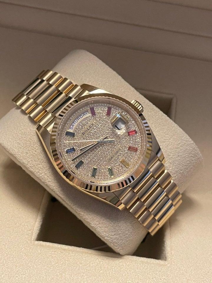 Rolex Day-Date 36 128238 2021 новые