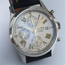Breitling Navitimer Steel 40mm White Roman numerals United Kingdom, London