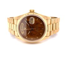 Rolex Day-Date 36 Yellow gold 36mm Brown No numerals United States of America, California, Beverly Hills