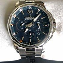 Corum Admiral's Cup Legend 42 nowość 2016 Automatyczny Chronograf Zegarek z oryginalnym pudełkiem i oryginalnymi dokumentami 984.101.20/V705 AB10