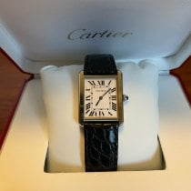 Cartier Tank Solo Steel 27.5mm Silver Roman numerals United States of America, Tennesse