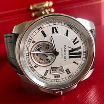 Cartier Calibre de Cartier Steel 42mm Silver Roman numerals United States of America, California, Los Angeles