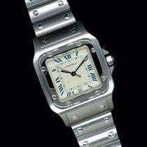 Cartier Stahl 29mm Quarz 987901 gebraucht