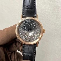 Breguet 7057br/g9/9w6 Rose gold Tradition 40mm new
