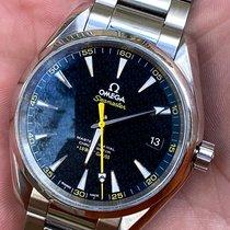 Omega Seamaster Aqua Terra Steel Blue No numerals United States of America, New York, BROOKLYN