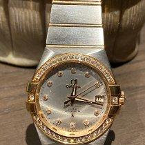 Omega Constellation Ladies Acero y oro 35mm Gris Sin cifras México, 04330